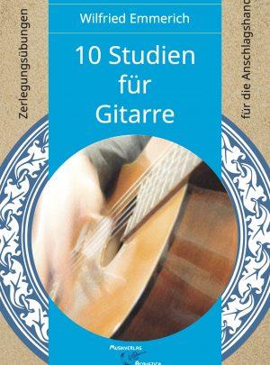 10 Studien für Gitarre